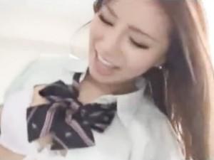 素人エロ動画史上最強の激カワ素人JK制服着用ハメ撮りSEX erovideo無料エロ動画