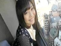 眺望の良いホテルで黒髪清楚系の美乳素人娘とハメ撮りセックスして子宮に濃厚ザーメン中出しフィニッシュ FC2 無料エロ動画