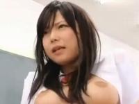 ロリ系激カワスタイル抜群の巨乳美少女JKが放課後の教室で先生好きと告白して禁断SEX 裏アゲサゲ無料エロ動画