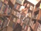 図書館に来た黒タイツの清楚系巨乳美人が本棚の陰で無理やり犯される 裏アゲサゲ 無料エロ動画