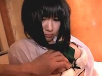 不貞腐れてる美少女JKとのハメ撮り援交SEXで無許可中出して更にお金も払わない最低野郎 裏アゲサゲ無料エロ動画