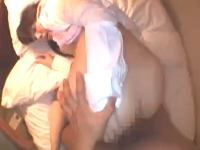 黒髪美人のお姉さんが男とHotelでハメ撮り着衣セックスでリアルに感じる 黒田将稔 裏アゲサゲ無料エロ動画