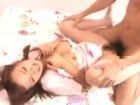 ナースのコスプレをしたアイドル系美人彼女のパンストを破いてラブラブ着衣セックス erovideo無料エロ動画
