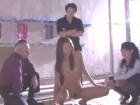 スレンダーなモデル系美女が男達のおもちゃにされていろんなセックスをさせられる 夏目彩春 裏アゲサゲ無料エロ動画