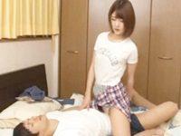 Hが下手なせいで彼氏に振られた美脚の姉にお願いされ騎乗位SEXの練習させられる不憫な弟 FC2