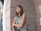 渋谷でアンケートと称してナンパした小麦肌のスレンダーな貧乳素人ギャルと真昼間からハメ撮りSEX FC2 無料エロ動画
