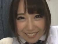 ロリ系激カワJKがSNSで出会った男と制服を着たまま援交セックス裏アゲサゲ無料エロ動画