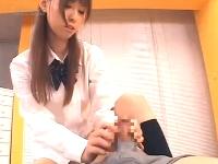 綺麗系の美人女子校生がめちゃエロな騎乗位だけのSEXで男をイカすerovideo 無料エロ動画