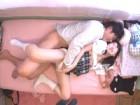 添い寝リフレの過激なオプションサービスは可愛いロリJK達との着衣本番セックス erovideo無料エロ動画