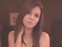 透き通るような白い肌とスレンダーでスタイル抜群の激カワモデル系ハーフ美人の姉さんがきれいに剃り上げたパイパンマンコをがんがん突かれる3Pセックス 裏アゲサゲ無料エロ動画