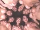 全員巨乳の美人お姉さん6人を相手に酒池肉林の乱交中出しセックスパティー erovideo無料エロ動画