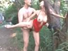 クールビューティーなのにセックスでは豹変して快感を貪るお姉さんと青姦セックス 小早川怜子 erovideo無料エロ動画