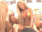 大勢のギャルAV女優達による秋の乱交セックス大運動会 裏アゲサゲ無料エロ動画